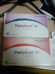 DAPOPHURE 60MG 4 TABLETS