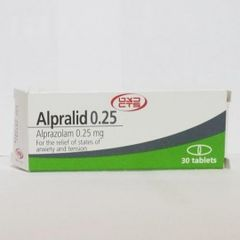 ALPRALID 0.25MG.1X30TABS