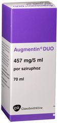 AUGMENTIN SUSP.400MG/5ML (70ML)