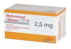 Methotrexate 2.5 mg tab