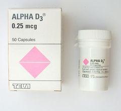 ALPHA D3 0.25 MCG