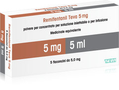 ULTIVA 5MG/10ML(REMIFENTANIL) X5