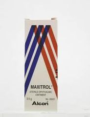 MAXITROL STERILE OPHTHALMIC SUSPENSION