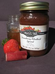Sugar Free Strawberry Rhubarb Spread