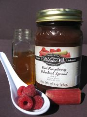 Sugar Free Raspberry Rhubarb Spread