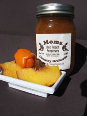Hot Peach Preserves