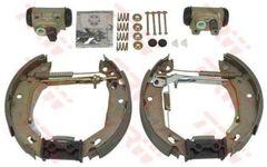 NEW LUCAS/TRW GSK1057 SHOE Brake Kit FOR RENAULT CLIO 1991-1998