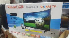 """Reliance 44"""" Smart Android Curved Screen TV"""