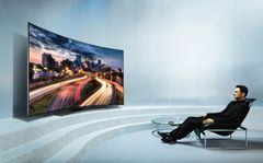 """52"""" BlackPoint Curved Screen Smart Android TV"""
