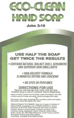 Case of 12 Eco-Clean Soap 18oz