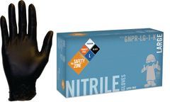 Box of Nitrile Black Gloves 5Mil