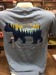 """""""The Mountains Are Calling"""" T-Shirt"""
