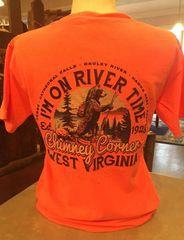 """I'm On River Time"" T-Shirt"