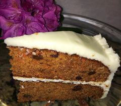 "Gluten Free Carrot Cake-9""-Two Layers"