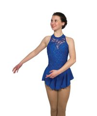 Jerry's Bows and Crystals Figure Skating Dress