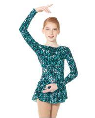 Figure Skating Dress 2723 Glitter Velvet by Mondor