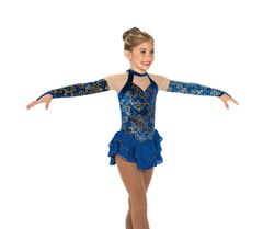 Figure Skating Dress Jerry's Rhapsody in Royal
