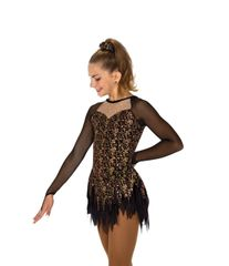 Jerry's Georgia Gold Figure Skating Dress