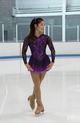 Figure Skating Dress Jerry's Lace Embrace