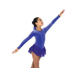 Figure Skating Dress Jerry's Royal Purple