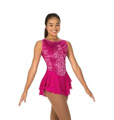 Figure Skating Dress Jerry's Sweep of Sequins