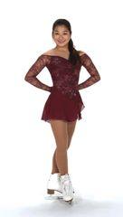 Figure Skating Dress Jerry's Lace Merlot