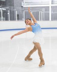 Figure Skating Dress Jerry's Snow Blue