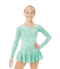 Figure Skating Dress 2769 Glitter Velvet by Mondor