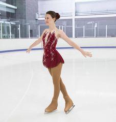 Figure Skating Dress Jerry's Rain of Rubies