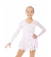 Figure Skating Dress 2971 Shiny Velvet by Mondor