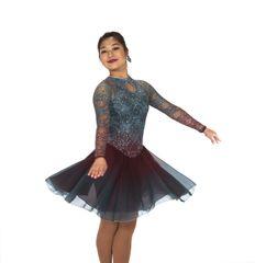 Jerry's Silver Swing Dance Dress