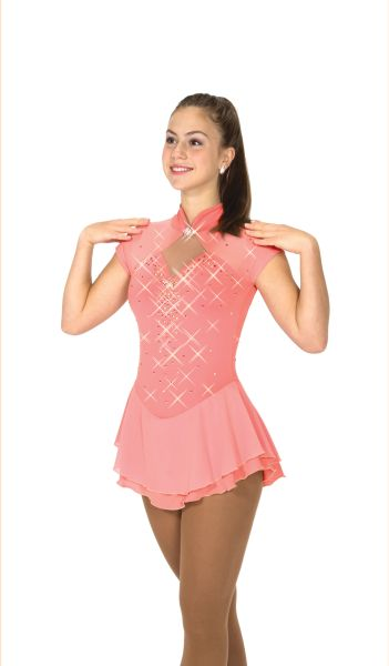 Jerry's Rose Gold Figure Skating Dress