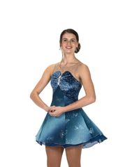 Figure Skating Dress Jerry's Baronial Blue