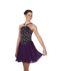 Jerry's Plum Progressives Dance Dress