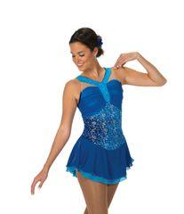 Figure Skating Dress Jerry's Jewel Blue