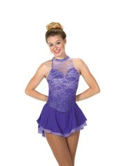 Figure Skating Dress Jerry's Lace on Lilacs