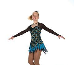 Figure Skating Dress Jerry's Mystiquette