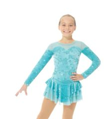 Figure Skating Dress 2765 Shiny Velvet by Mondor