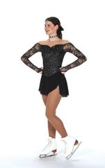 Jerry's Luxe Lace Figure Skating Dress Adult Large