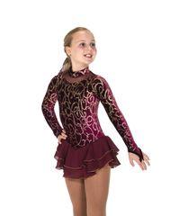 Figure Skating Dress Jerry's Wine and Vine