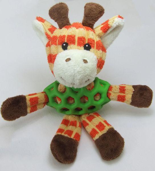 Plush Squeaky Giraffe