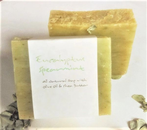Eucalyptus Spearmint Cold Pressed Soap Natural Refinery