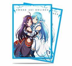 "Deck Protector Sleeves Standard Size ""Sword Art Online II (Yuuki & Asuna)"" by Ultra PRO"