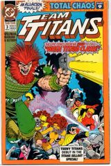 Team Titans #3 (1992) by DC Comics
