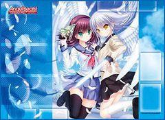 "TCG Universal Fabric Play Mat ""Angel Beats! -Operation Wars-"" by Broccoli"