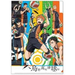 "3 Pocket Clear File ""Haikyu!! (Karasuno)"" by Takara Tomy A.R.T.S"