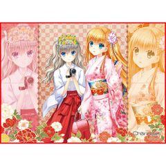 """TCG Universal Fabric Play Mat """"Charlotte (Nao & Yusa)"""" by Broccoli"""