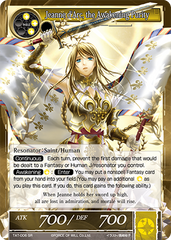 TAT-006 SR Foil - Jeanne d'Arc, the Awakening Purity