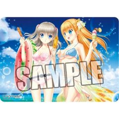"Character Universal Rubber Mat ""Charlotte (Nao & Yusa)"" by Broccoli"