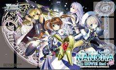 "Weiss Schwarz Fabric Mat ""Magical Girl Lyrical Nanoha A's The Movie 2nd"" by Bushiroad"